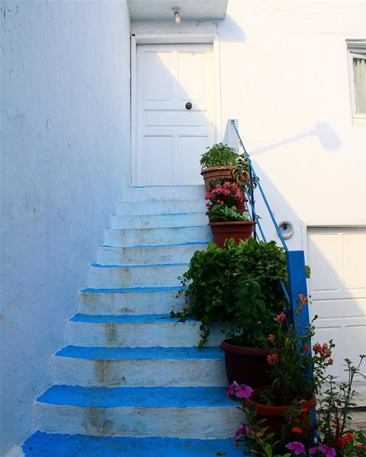 Stairway to home, each step counts to ten.. stairway stairs stair ... (Ta7t El Ri7 - Anfeh)