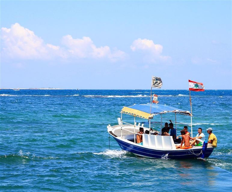 Destination: Palm Island.. palm island islands beach swim boat ... (Mina Tripoli Lebanon)