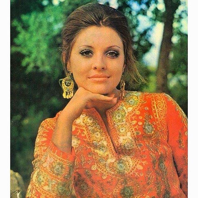جورجينا رزق ملكة جمال لبنان عام ١٩٧٠