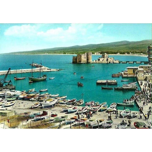 صيدا المرفئ عام ١٩٦٣ ،Saida The Port