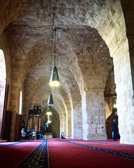 blessedfriday  tgif  friday  prayer  bless  mosque  arch  archileb ... (Grande Mosquée Al Mansouri)