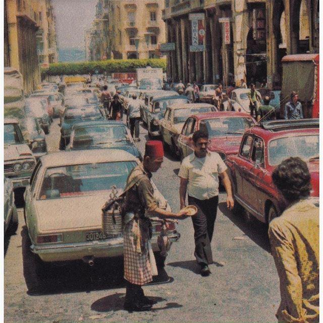 بيروت شارع المعرض عام ١٩٧٤