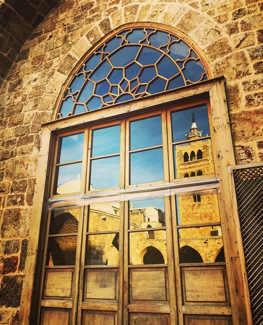 """Two elements, the door and the minaret, probably do belong to an earlier,... (Grande Mosquée Al Mansouri)"