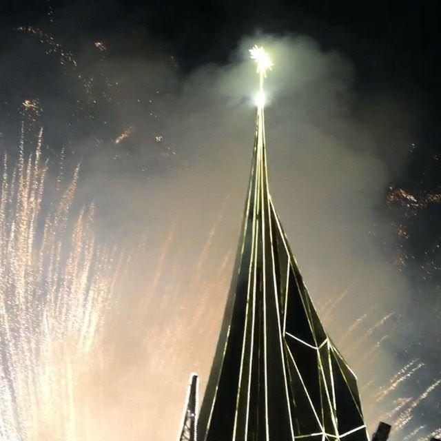 livelovebyblos livelovejbeil firework christmas xmas2015 ... (Byblos, Lebanon)