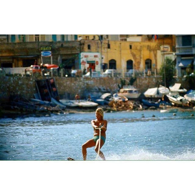 بيروت السان جورج عام ١٩٦٦