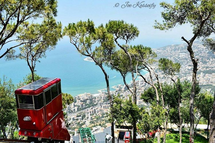Enjoy Life Today , Yesterday Is Gone & Tomorrow May Never Come 🌇🚊 (The Lady of Lebanon - Harissa)