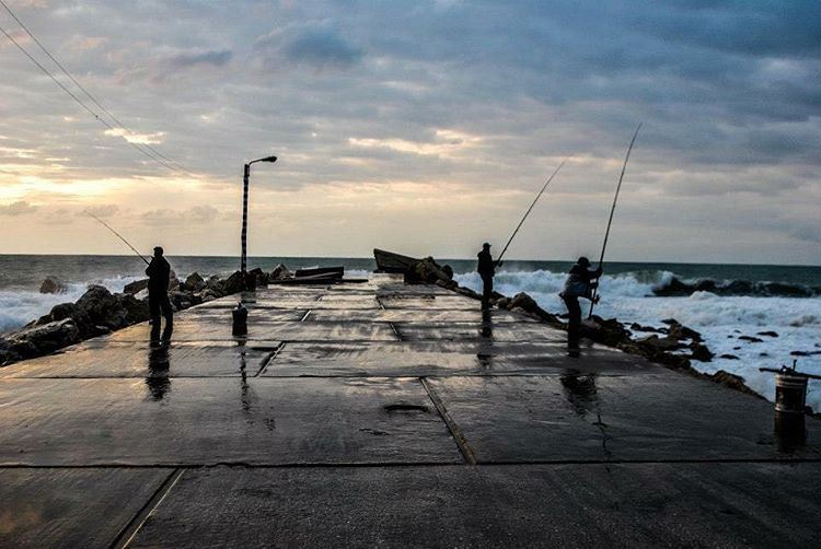 At peace. fishermen jbeil lebanon travel marina byblos ... (Jbeil-Byblos)