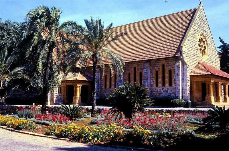 بيروت الجامعة الامريكية عام ١٩٦٦