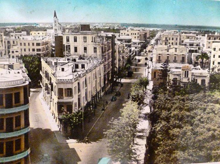 طرابلس عام ١٩٥٥ ،Tripoli in 1955