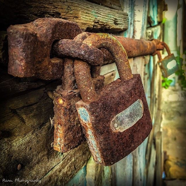 Trouble is to man what rust is to iron.. Have a good start of week 😊 ... (Batroun Old Souk)