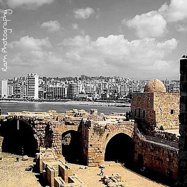 south  lebanon  saida  old   fortress  loves_lebanon  instaamici ...