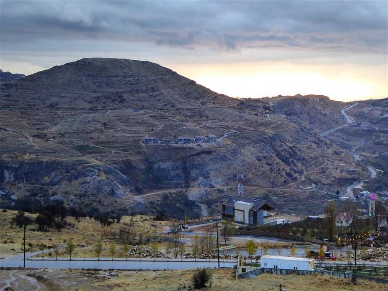 Nothing better than jumping in a car and exploring a country on your own!!... (Faraya Mzaar)