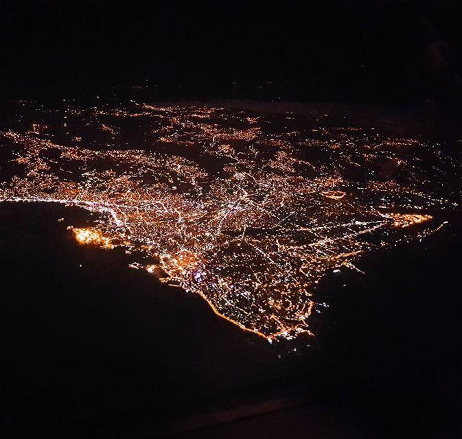 Beirut from above... beirut livelovebeirut livelovelebanon lebanon ...