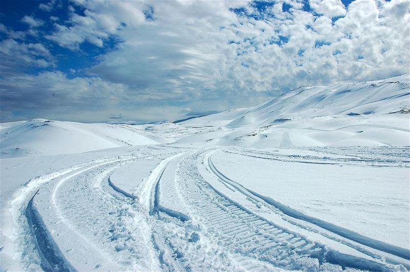 اكثر الأمور صعوبة في تصوير الثلج هو اختيار التعريض المناسب مزاج رايق 🔘... (Faraya, Mont-Liban, Lebanon)