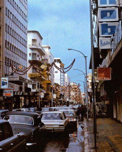 صباح الخير من بيروت شارع الحمرا عام ١٩٧٣