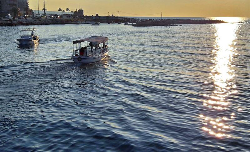Towards the Sunset 🌅 Tripoli TripoliLB Beautiful Keepcalm ... (Kornich El-Mina)