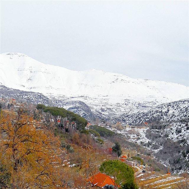 Baskinta 💓 Lebanon Lebanese Alps AlMaten Sannine landscape ... (Baskinta, Lebanon)
