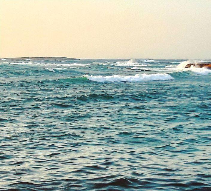 🌊🌊🌊 Tripoli TripoliLB Lebanon Winter Lebanese Mediterranean sea... (كورنيش الميناء البحري)