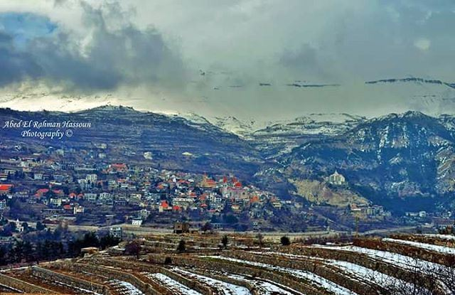 What a beautiful landscape to start the new year with 😍 Bsharri | Like... (Bsharri, Lebanon)