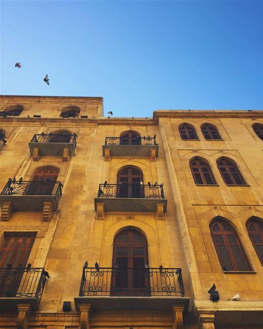 Beirut blue skies (Beirut, Lebanon)