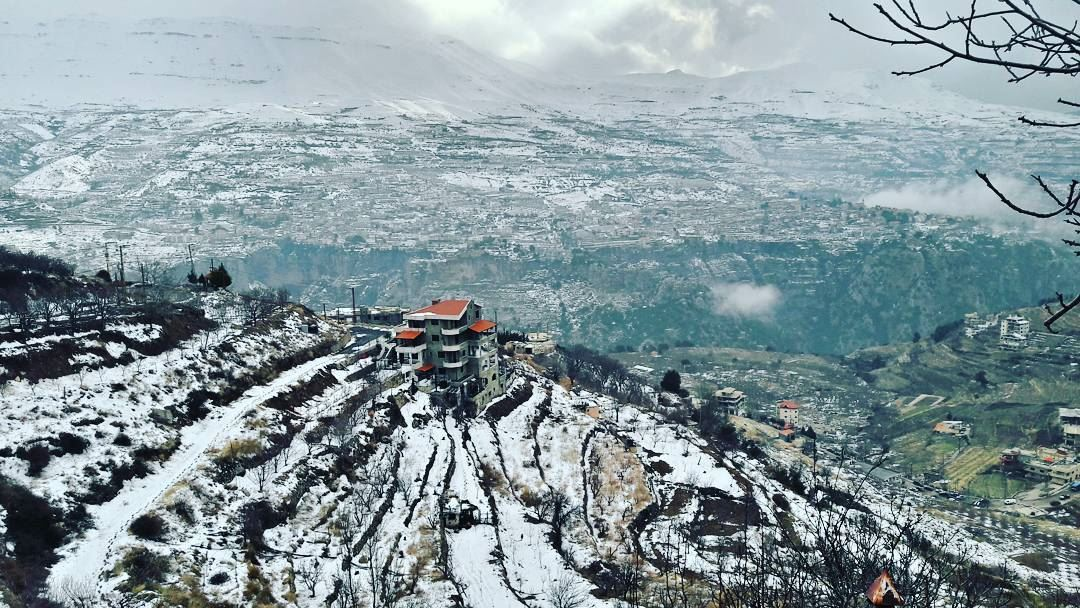 Bcharri today ❄❄❄ Lebanon Lebanese Hasroun Bsharri village Bcharri... (Bcharri, Liban-Nord, Lebanon)