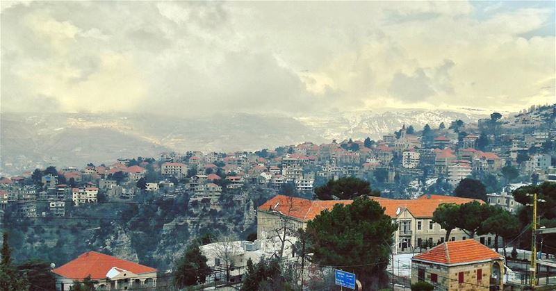 Hasroun today ❄❄❄ Lebanon Lebanese Hasroun Bsharri village ... (Hasroun Rose Of The Mountain)