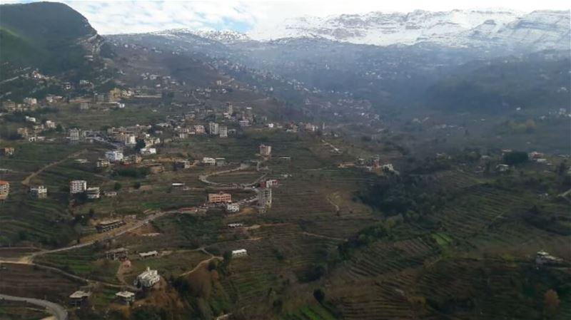 Beautiful Danniyeh 😍 Lebanon Lebanese Dannieh village landscape ... (بخعون الضنية)
