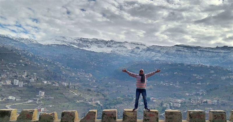 I love you that much 🙌 Lebanon Lebanese Dannieh village landscape... (بخعون الضنية)