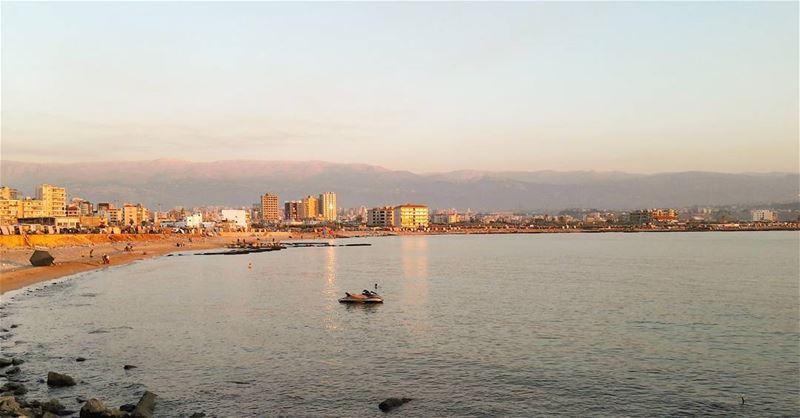 Beautiful..... Lebanon Lebanese Mediterranean Sea MediterraneanSea ... (El-Mina, Tripoli)