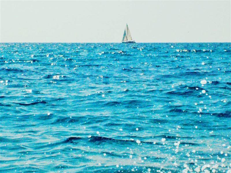 KeepCalm Beautiful refreshing day island Mediterranean Sea ... (Mina Tripoli Lebanon)