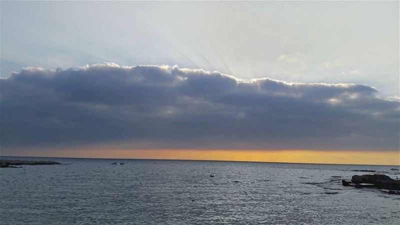 LIVE from Abed El Wahhab island Mediterranean Sea Sunset Sky ...