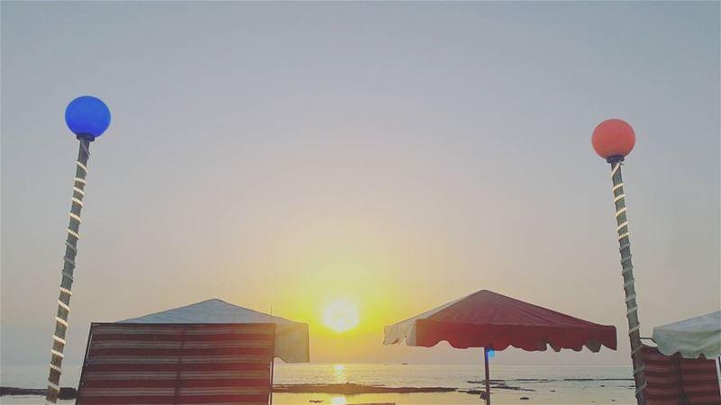 Mina Tripoli Mediterranean Sea Sunset Sky Lebanon Lebanese ... (الميناء)
