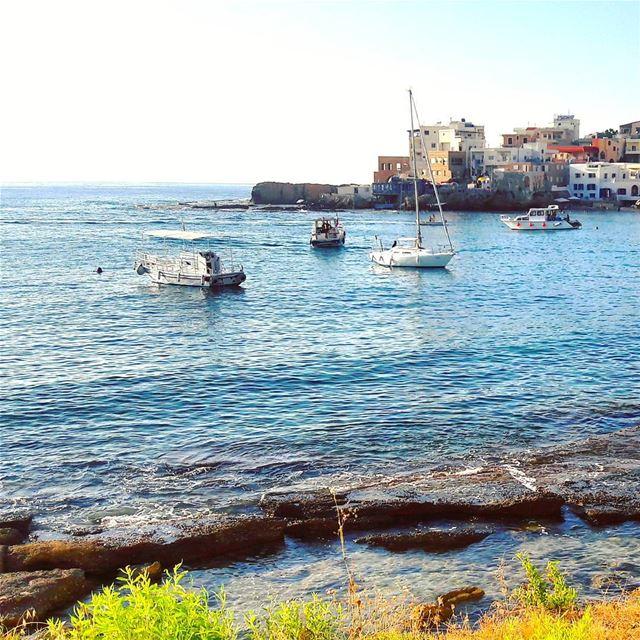 Summer vibes 🌊🌊🌊 Batroun Lebanon Lebanese Mediterranean sea ... (Bahsa-Batroun)