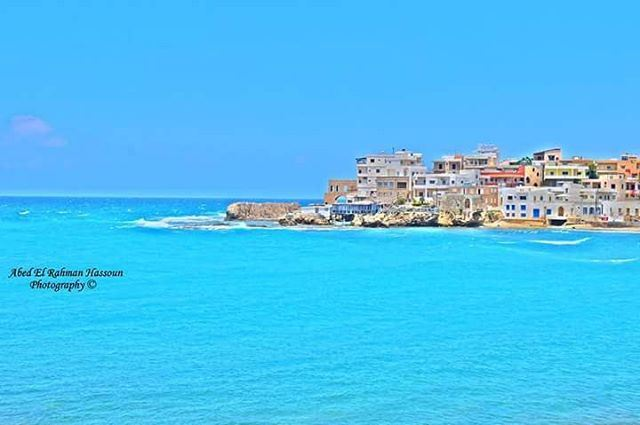 What a view 😍😍😍   Join me on Facebook for more pictures ╰▶ Abed El... (Bahsa-Batroun)