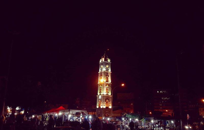 عجقة العيد عالتل🌛🌛🌛 | Join me on Facebook for more pictures ╰▶ Abed El... (التل - طرابلس)