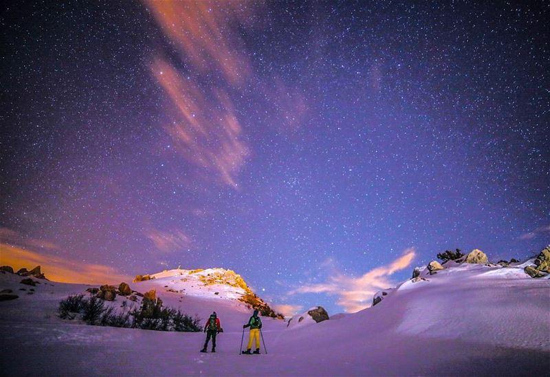 Stay awake...Stay amazed ... nighthike stargazing... (Akoura, Mont-Liban, Lebanon)