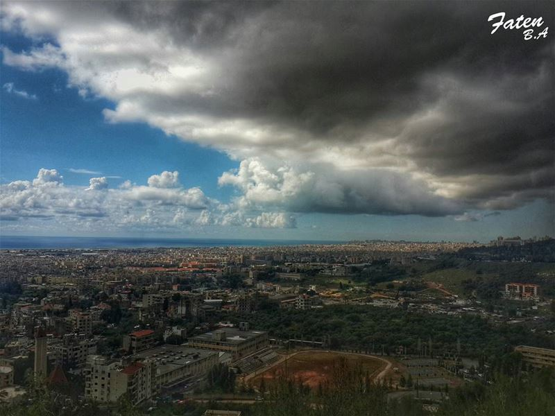 . And here comes the STORM!_________________________________________... (NDA School Kfarshima)