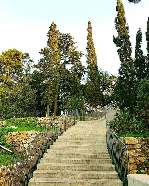 ... Although the way is not that clear;I'll walk and overcome my fear... � (American University of Beirut (AUB))