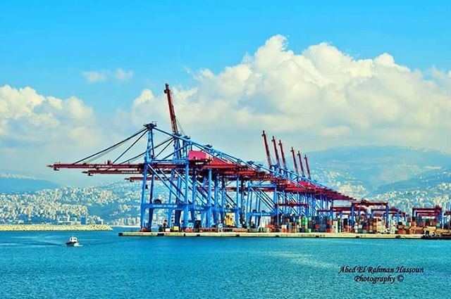 Good morning from the busy port of the eternal Beirut | Like my... (Port of Beirut)