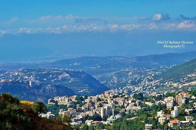Al Dannieh + El Minieh + Akkar in one picture.Good morning North Lebanon � (Bkaa Safreïn, Liban-Nord, Lebanon)