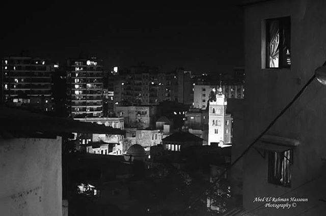 Tripoli at night 🌒 | Join me on Facebook for more pictures ╰▶ Abed El... (Tripoli, Lebanon)