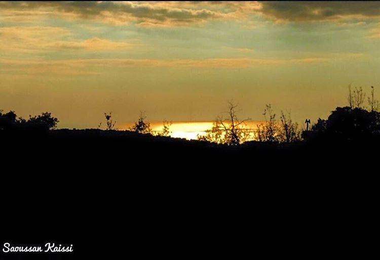 sunset dibiyee lebanon sky colors ...