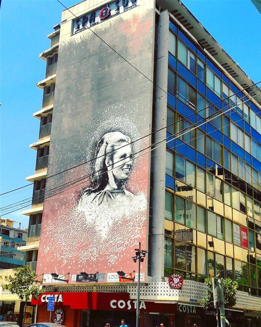 صباح الخير، من الحمرا Bonjour Saba7o goodmorning hamrastreet Hamra... (Hamra - حمراء)
