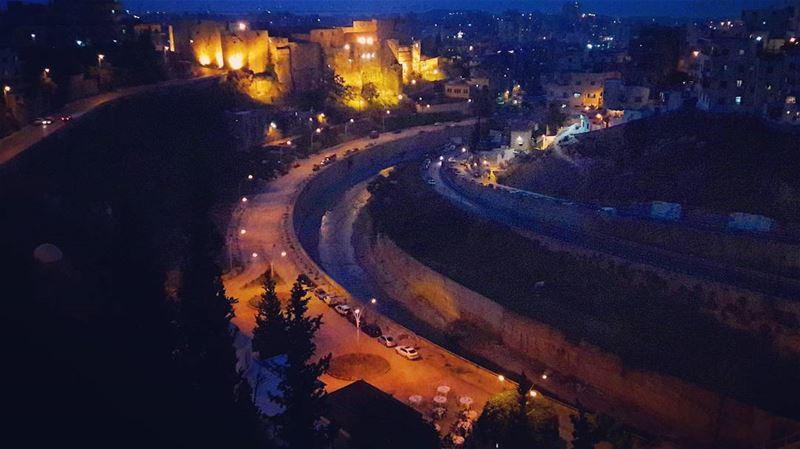 إفطار شهيRamadan's lights in Tripoli 🌛🌛🌛 Lebanon Lebanese ... (التكية المولوية - نهر أبو علي)