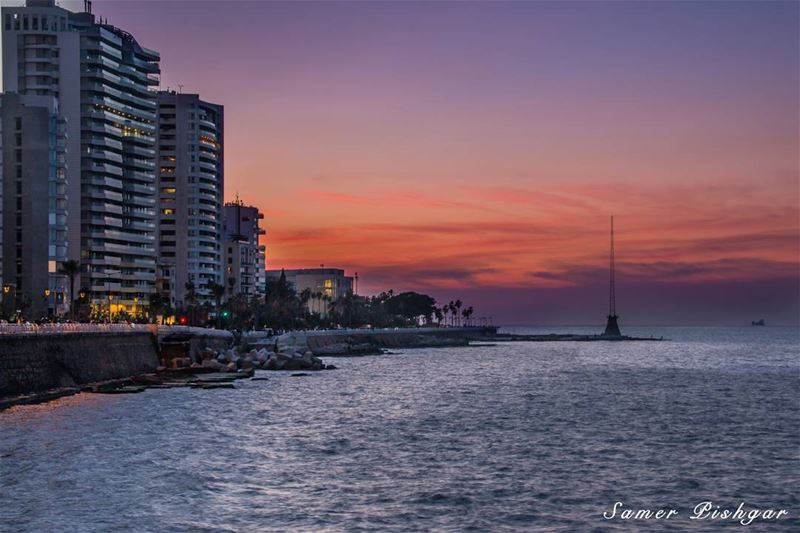 City Colors.. Twilight in Beirut.......................💄Edited by my...
