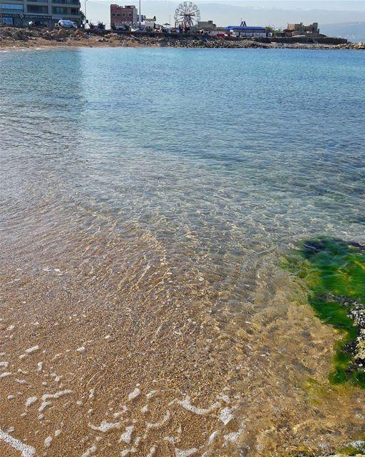 Crystal clear water 🌊 Tripoli TripoliLB Lebanon Lebanese ... (Tripoli, Lebanon)