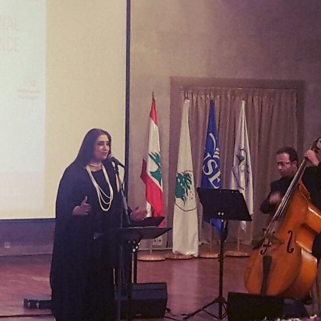 When  Art meets  Science....  LAAS  International  conference  Opening ... (Holy Spirit University of Kaslik - USEK)