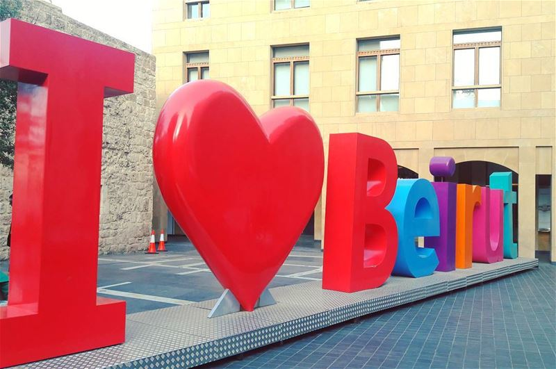 Who doesn't!!!! I Love Beirut Amazing Beirut Beyrouth Modern ... (Beirut Souks)
