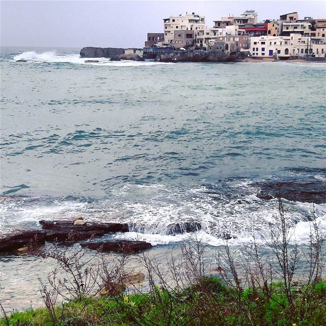 What a moody weather!Bonjour everybody Batroun Lebanon Lebanese ... (CNRS- National Center for Marine Sciences)