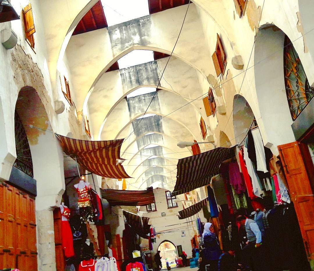 Tripoli, the magical city 💖 ComeToTripoli ILoveTripoli TripoliLB ... (خان الخياطين)
